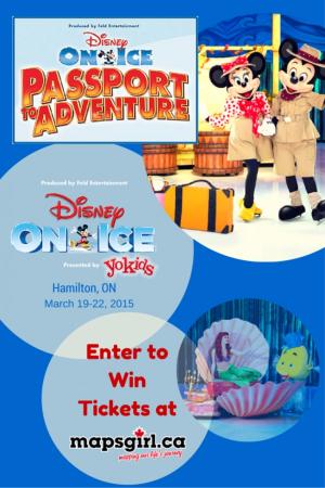 Win Disney on Ice Passport to Aventure Tickets @ mapsgirl.ca