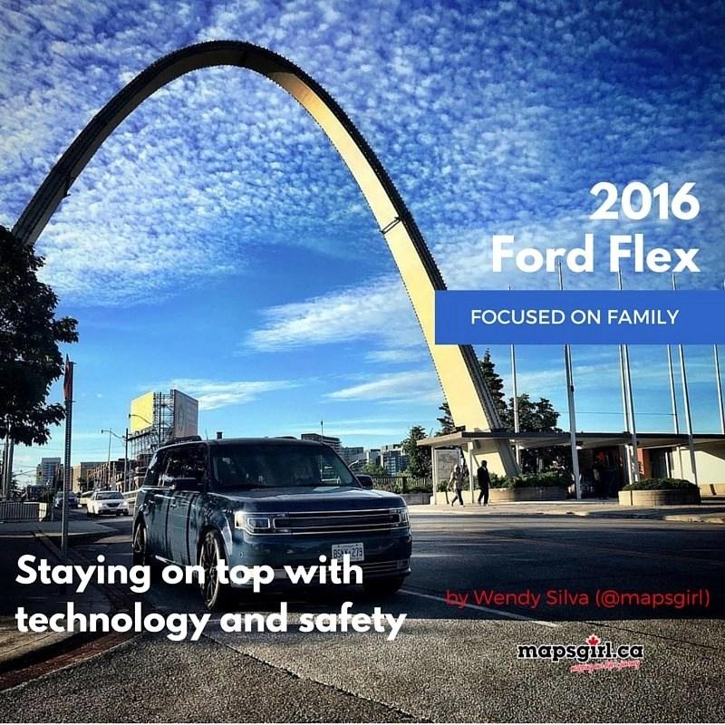 2016 Ford Flex @ mapsgirl.ca