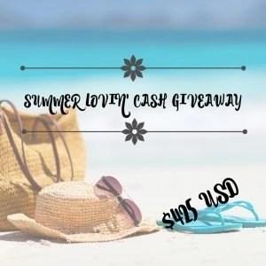 Summer Cash Giveaway @ mapsgirl.ca