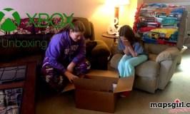 Xbox Unboxing @ mapsgirl.ca