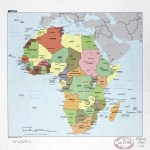 Large Detail Political Map Of Africa With The Marks Of Capital Cities Large Cities And Names Of States 1985 Africa Mapsland Maps Of The World