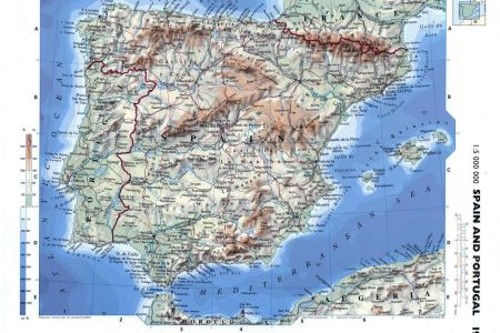 Physical map of spain in english full hd maps locations another detailed map of spain in english tourist spain geography youtube spain geography world map in spanish spain tested hebrew nations image result for spain gumiabroncs Gallery