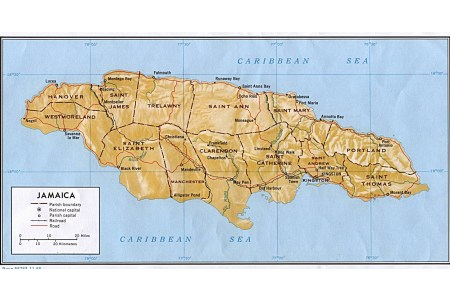 administrative of jamaica map » Full HD MAPS Locations - Another ...