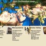 Old Civilisation Map History Of Indus Valley Civilization