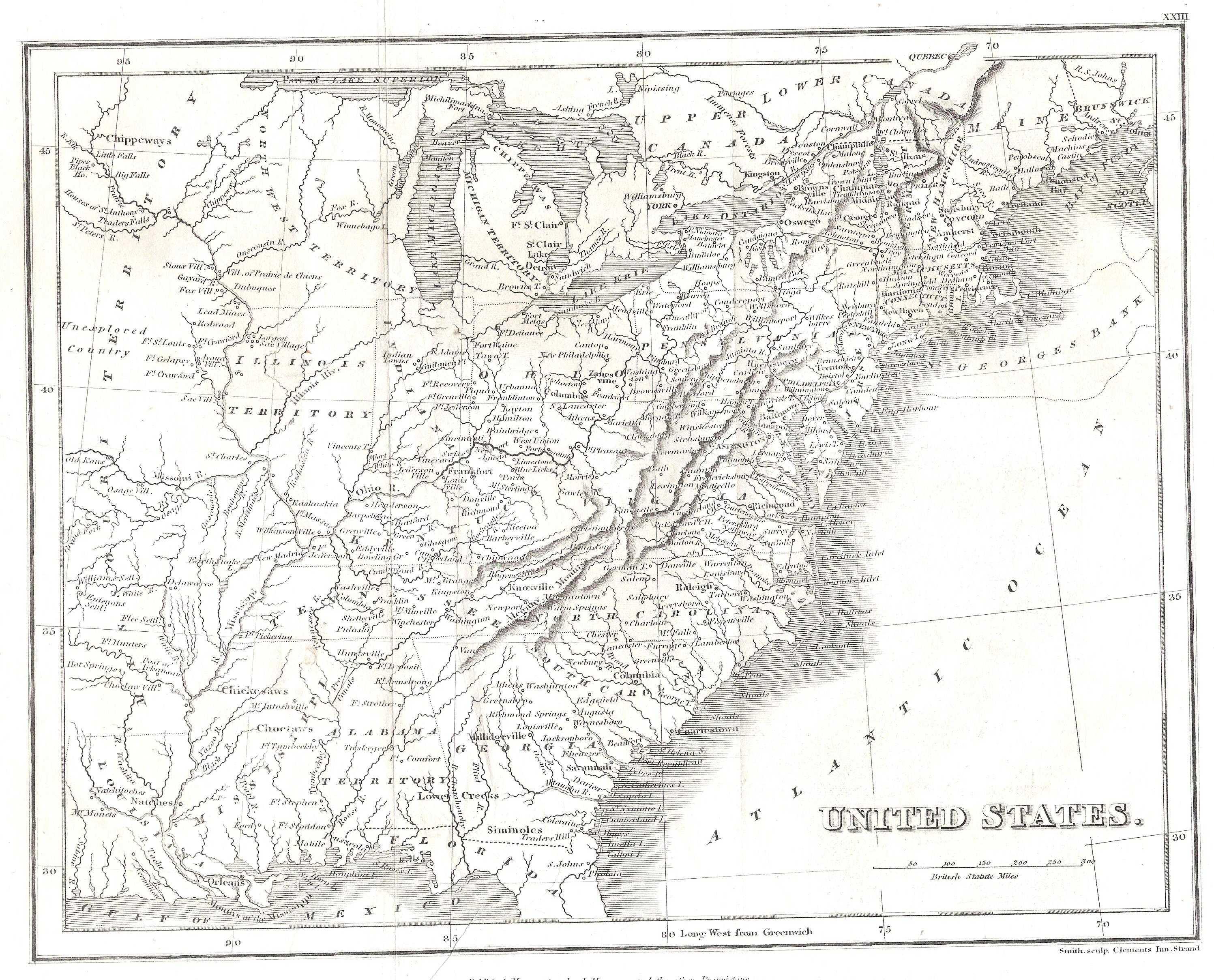 S Pennsylvania Maps