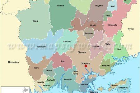 hiroshima prefecture map » Full HD MAPS Locations - Another World ...