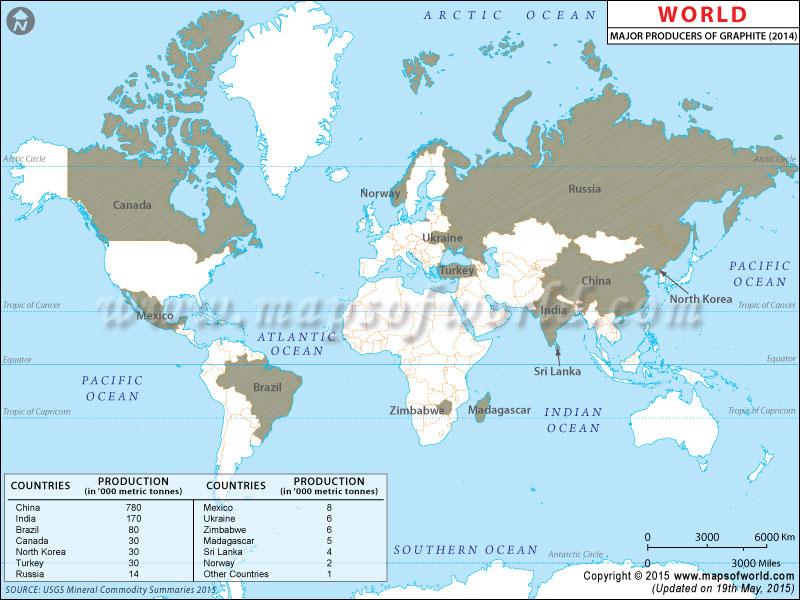 Diamond Mine Locations Map