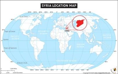 Αποτέλεσμα εικόνας για syria on a map