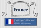 Infographic on France Facts