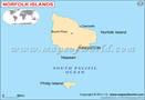 Norfolk Island MapFollow