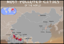 What are the most air polluted cities in the world?