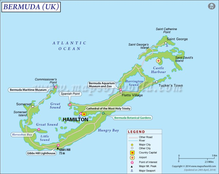 map of bermuda triangle » World Maps Wallpaper | Free Maps