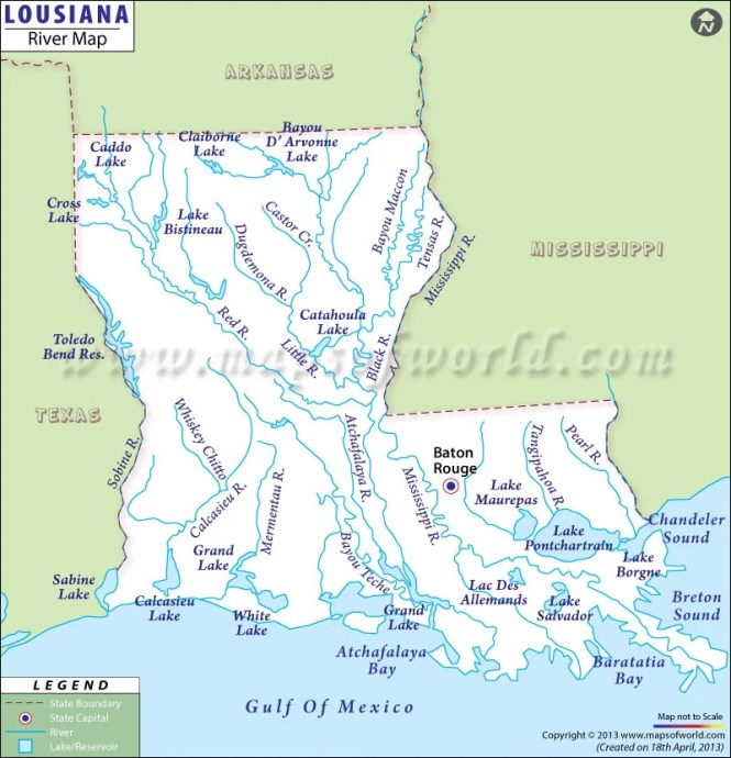 US River Map Map Of US Rivers Americanriversgageadjusted Maps - Us lakes and rivers map