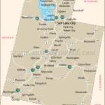 Utah State Map