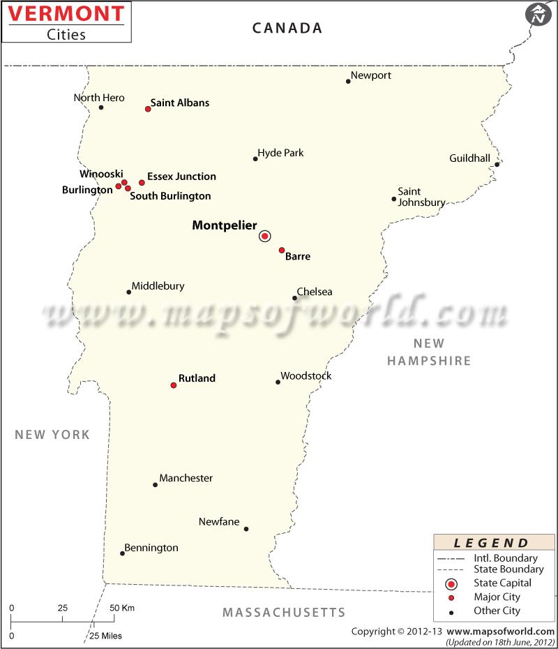 Map Burlington County Towns