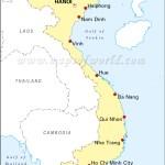 Vietnam Cities Map Major Cities In Vietnam