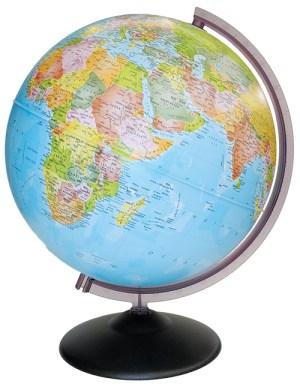 Corallo Political Globe