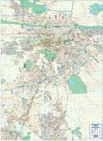Pretoria Large Wall Map