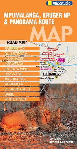 Mpumalanga Kruger NP, Panorama Route Map -epdf