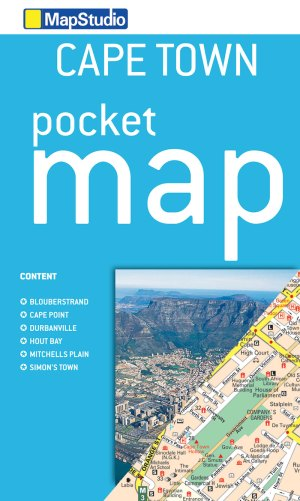Cape Town Pocket Map - ePDF