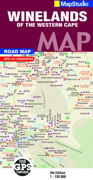 Winelands of the Western Cape Road Map - Previous Edition - ePDF