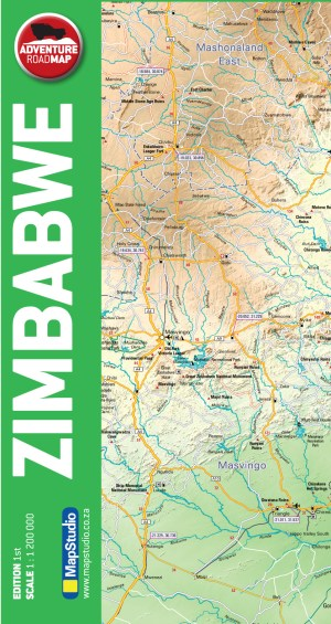 Zimbabwe Adventure Road Map - ePDF