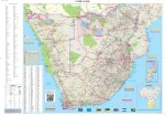Southern Africa Globetrotter Map