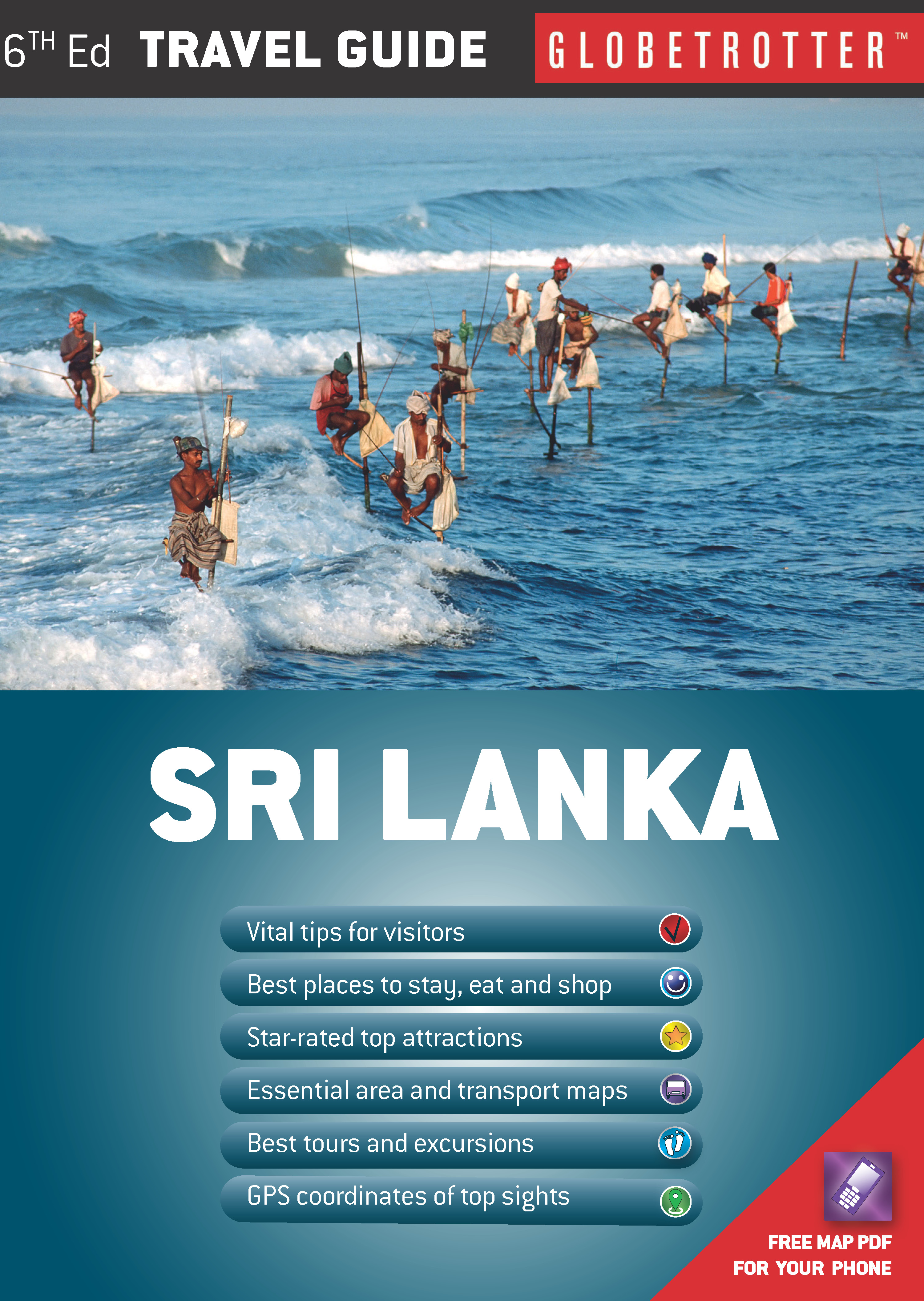 Sri Lanka Travel Guide eBook MapStudio