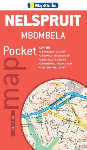 Mbombela Nelspruit Pocket Map