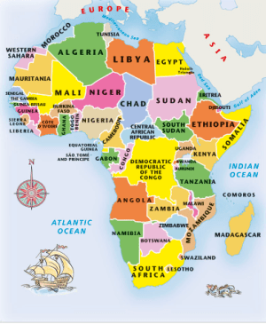 Africa Junior jigsaw puzzle