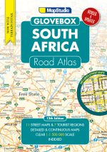 Road Atlas South Africa Glovebox