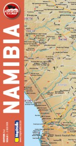 Namibia Adventure Road Map