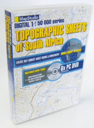 Topographic Sheets of South Africa