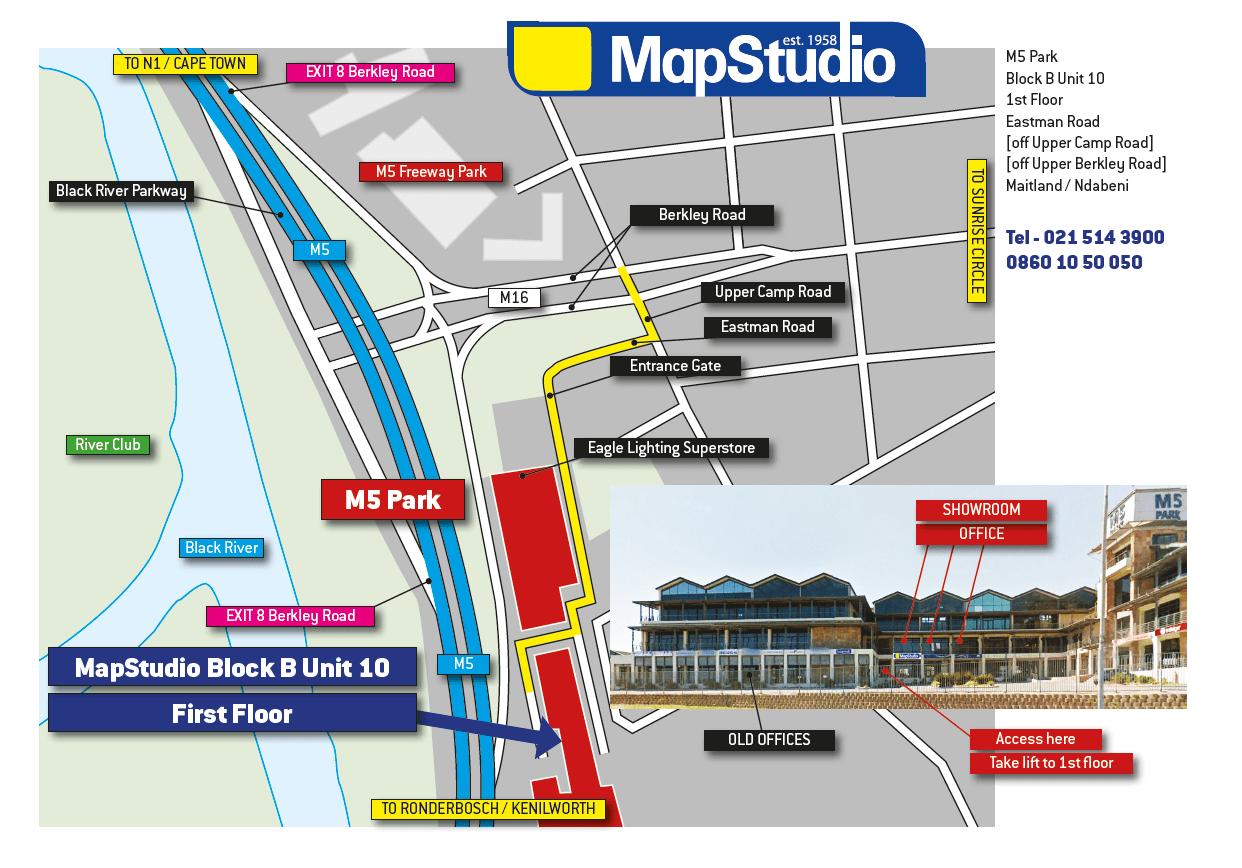 MapStudio directions