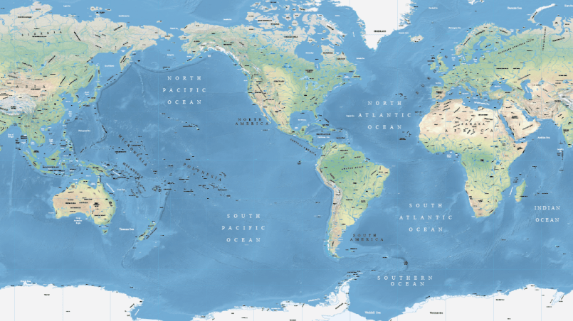 indian ocean and pacific ocean map » Full HD MAPS Locations ...