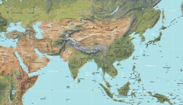 Physical-World-Map-Vector-13