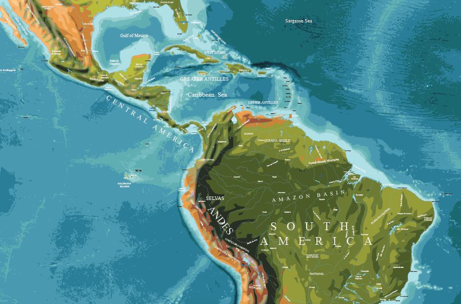 Physical-World-Map-Vector-15