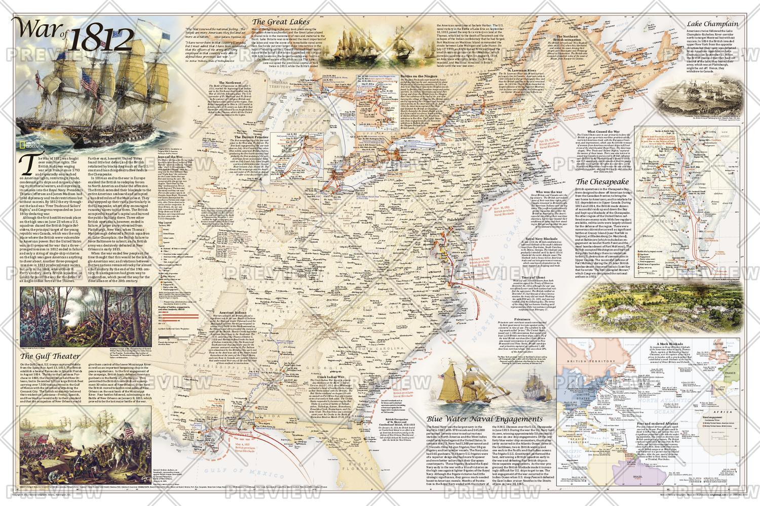 Map Of Battles Of The Revolutionary War National Geographic