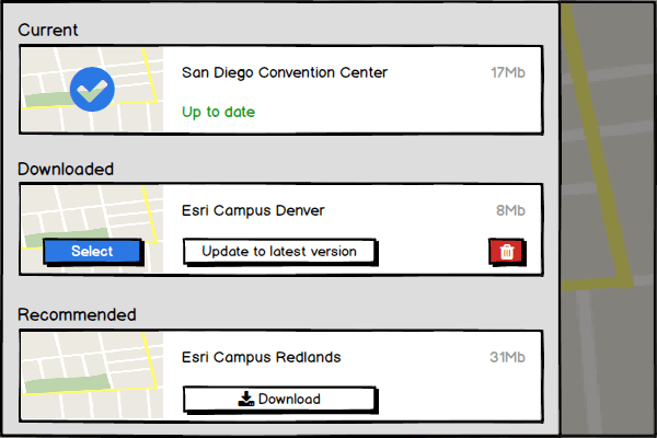 Offline Maps – UI Patterns for Map Applications