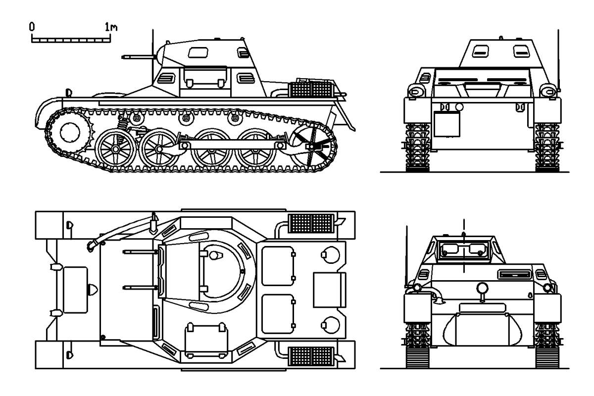 Panzer I Ausf A Sdkfz 101 Munster Maquetland Le