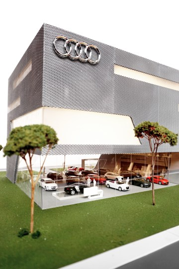Model Terminal Park Avenue Audi