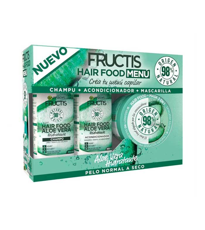 Garnier Fructis Hair Food Menu