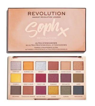 Revolution - Paleta de sombras Soph X - Extra Spice