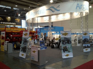 Stand argentino en Agritechnica 2013