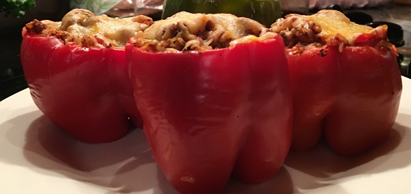 Stuffed Bell Peppers – Portion Fix-21 Day Fix