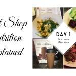 The SHIFT SHOP Nutrition Plan, Explained