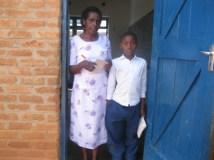 Ramos and his class teacher
