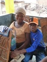 Ramos and his mum