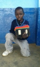 A set of notebooks is essential for school in Malawi.