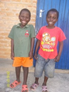 Happy smiling boys